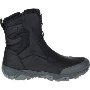 メレル ブーツ&レインブーツ メンズ シューズ Coldpack Ice+ 8in Zip Polar Waterproof Boot - Men's Black|astyshop