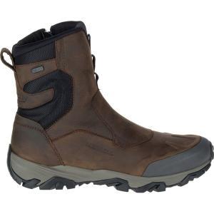 メレル ブーツ&レインブーツ メンズ シューズ Coldpack Ice+ 8in Zip Polar Waterproof Boot - Men's Copper Mountain|astyshop