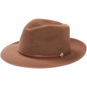 ステトソン 帽子 メンズ アクセサリー Roadster B Hat Walnut astyshop
