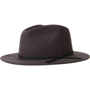 ブリクストン 帽子 メンズ アクセサリー Coleman Fedora Washed Black astyshop