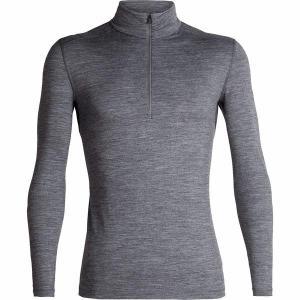 アイスブレーカー Tシャツ メンズ トップス 200 Oasis 1/2-Zip Top - Men's Gritstone Heather astyshop