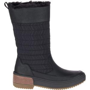 メレル ブーツ&レインブーツ レディース シューズ Haven Pull On Polar WP Boot - Women's Black astyshop