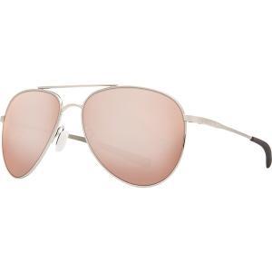 コスタ サングラス・アイウェア メンズ アクセサリー Cook 580P Polarized Sunglasses Brushed Palladium Silver Mirror 580p|astyshop