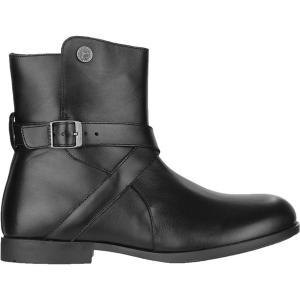 ビルケンシュトック ブーツ&レインブーツ レディース シューズ Collins Boot - Women's Black Leather astyshop