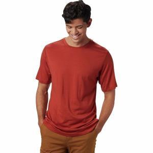マウンテンハードウェア シャツ メンズ トップス Diamond Peak Short-Sleeve T-Shirt - Men's Dark Copper|astyshop