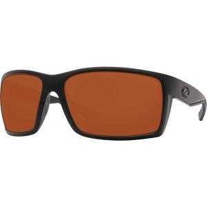 コスタ サングラス・アイウェア メンズ アクセサリー Reefton 580P Polarized Sunglasses Blackout Copper 580p|astyshop