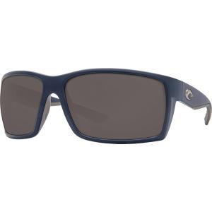 コスタ サングラス・アイウェア メンズ アクセサリー Reefton 580P Polarized Sunglasses Matte Dark Blue Gray 580p|astyshop