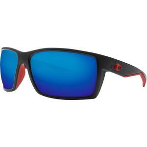 コスタ サングラス・アイウェア メンズ アクセサリー Reefton 580P Polarized Sunglasses Race Black Frame/Gray|astyshop