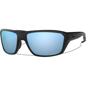 オークリー サングラス・アイウェア メンズ アクセサリー Split Shot Prizm Polarized Sunglasses Matte Black W/Prizm Dp H2o Polarized|astyshop