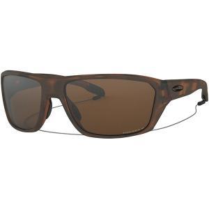 オークリー サングラス・アイウェア メンズ アクセサリー Split Shot Prizm Polarized Sunglasses Matte Brown Tortoise W/Prizm Tungsten Polarized|astyshop