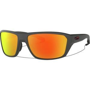 オークリー サングラス・アイウェア メンズ アクセサリー Split Shot Prizm Polarized Sunglasses Matte Heather Grey W/Prizm Ruby Polarized|astyshop