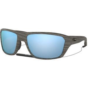 オークリー サングラス・アイウェア メンズ アクセサリー Split Shot Prizm Polarized Sunglasses Woodgrain/PRIZM Deep H2O Polarized|astyshop