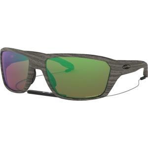 オークリー サングラス・アイウェア メンズ アクセサリー Split Shot Prizm Polarized Sunglasses Woodgrain/PRIZM Shallow H2O Polarized|astyshop