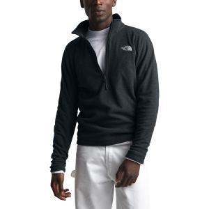 ノースフェイス ジャケット&ブルゾン メンズ アウター Textured Cap Rock 1/4-Zip Fleece Jacket - Men's Tnf Black|astyshop