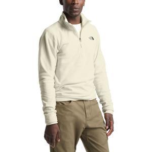 ノースフェイス ジャケット&ブルゾン メンズ アウター Textured Cap Rock 1/4-Zip Fleece Jacket - Men's Vintage White|astyshop