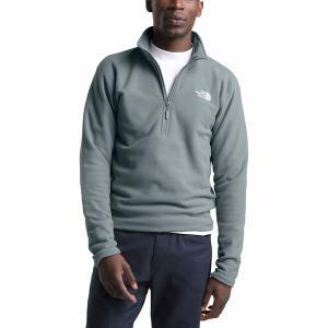 ノースフェイス ジャケット&ブルゾン メンズ アウター Textured Cap Rock 1/4-Zip Fleece Jacket - Men's Mid Grey|astyshop