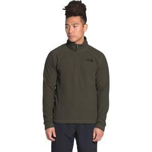 ノースフェイス ジャケット&ブルゾン メンズ アウター Textured Cap Rock 1/4-Zip Fleece Jacket - Men's New Taupe Green|astyshop