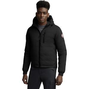カナダグース ジャケット&ブルゾン メンズ アウター Lodge Matte Finish Down Hooded Jacket - Men's Black|astyshop