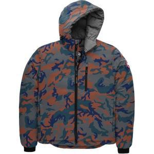 カナダグース ジャケット&ブルゾン メンズ アウター Lodge Matte Finish Down Hooded Jacket CLACAM|astyshop