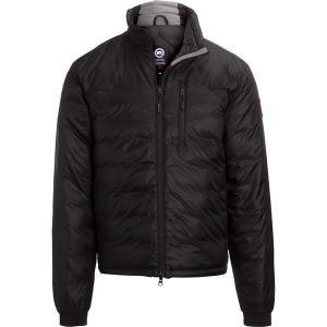カナダグース ジャケット&ブルゾン メンズ アウター Lodge Matte Finish Down Hooded Jacket - Men's Black/Black/Noir/Noir|astyshop
