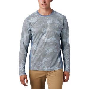 コロンビア シャツ メンズ トップス Solar Chill 2.0 Long-Sleeve Shirt - Men's Mountain Mesh Print|astyshop
