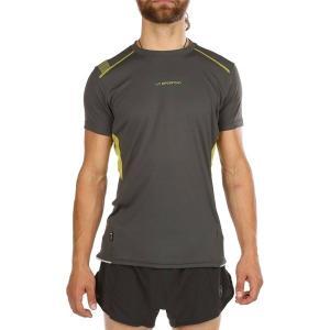 ラスポルティバ シャツ メンズ トップス Blitz T-Shirt - Men's Carbon/Kiwi|astyshop