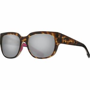 コスタ サングラス&アイウェア レディース  Matte Shadow Tortoise Frame/Gray Silver Mirror 580G|astyshop