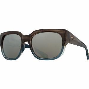 コスタ サングラス&アイウェア レディース アクセサリー Waterwoman 580G Polarized Sunglasses - Women's Shiny Wahoo Frame/Copper Silver Mirror 580G|astyshop