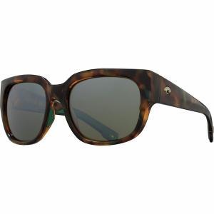 コスタ サングラス&アイウェア レディース  Shiny Palm Tortoise Frame/Sunrise Silver Mirror 580G|astyshop