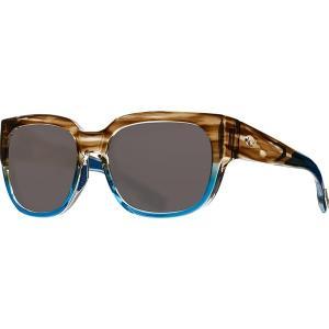 コスタ サングラス&アイウェア レディース アクセサリー Waterwoman 580G Polarized Sunglasses - Women's Shiny Wahoo Frame/Gray|astyshop