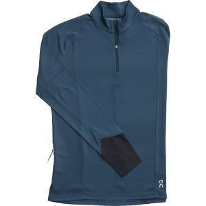 オン ランニング シャツ メンズ トップス Weather Long-Sleeve Shirt - Men's Navy|astyshop