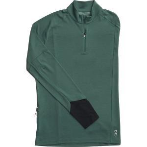 オン ランニング シャツ メンズ トップス Weather Long-Sleeve Shirt - Men's Olive|astyshop