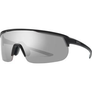 スミス サングラス・アイウェア メンズ アクセサリー Trackstand ChromaPop Sunglasses Matte Black/Platinum|astyshop