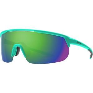 スミス サングラス・アイウェア メンズ アクセサリー Trackstand ChromaPop Sunglasses Matte Jade/Sun Green Mirror|astyshop