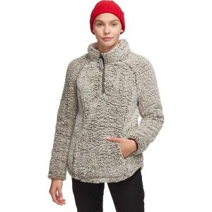 ストイック ジャケット・ブルゾン レディース アウター Long Pile 1/4-Zip Fleece Pullover OLIIR|astyshop