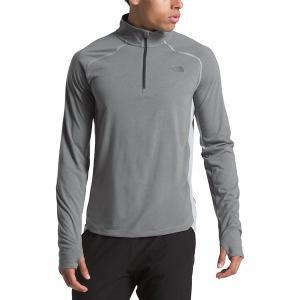 ノースフェイス シャツ メンズ トップス Essential 1/4-Zip Top - Men's Tnf Medium Grey Heather|astyshop