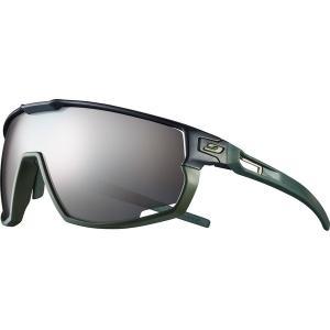 ジュルボ サングラス・アイウェア メンズ アクセサリー Rush Spectron 3+ Sunglasses Black/Green|astyshop