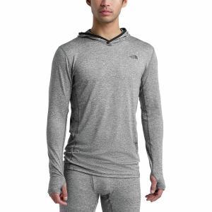 ノースフェイス Tシャツ メンズ トップス Warm Poly Hoodie - Men's Tnf Medium Grey Heather astyshop