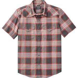 フィルソン シャツ メンズ トップス Snap Front Guide Short-Sleeve Shirt - Men's Black/Grey/Red|astyshop