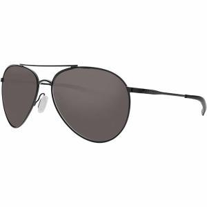 コスタ サングラス・アイウェア メンズ アクセサリー Piper 580G Polarized Sunglasses Shiny Black Frame/Gray|astyshop
