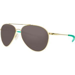 コスタ サングラス・アイウェア メンズ アクセサリー Piper 580G Polarized Sunglasses Shiny Gold Frame/Gray|astyshop