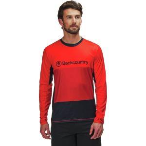 バックカントリー シャツ メンズ トップス Arcylon Long-Sleeve Jersey - Men's Molten Lava|astyshop