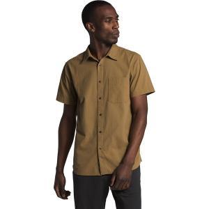 ノースフェイス シャツ メンズ トップス Short Sleeve Baytrail Pattern Shirt - Men's British Khaki|astyshop