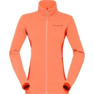 ノローナ ジャケット・ブルゾン レディース アウター Falketind Warm1 Fleece Jacket MEL|astyshop