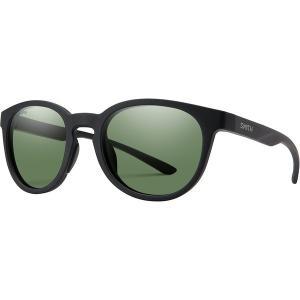 スミス サングラス・アイウェア メンズ アクセサリー Eastbank Chromapop Polarized Sunglasses Matte Black Frame/Gray Green Polarized|astyshop