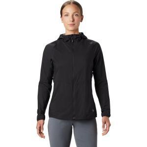 マウンテンハードウェア ジャケット・ブルゾン レディース アウター Kor Preshell Hooded Jacket - Women's Black|astyshop