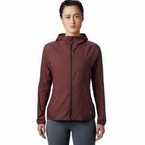 マウンテンハードウェア ジャケット・ブルゾン レディース アウター Kor Preshell Hooded Jacket - Women's Washed Raisin|astyshop
