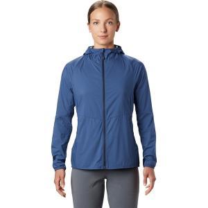 マウンテンハードウェア ジャケット・ブルゾン レディース アウター Kor Preshell Hooded Jacket - Women's Better Blue|astyshop