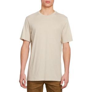ボルコム シャツ メンズ トップス Solid Heather T-Shirt - Men's Oatmeal|astyshop