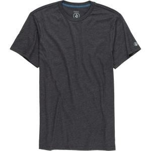 ボルコム シャツ メンズ トップス Solid Heather T-Shirt - Men's Heather Black|astyshop
